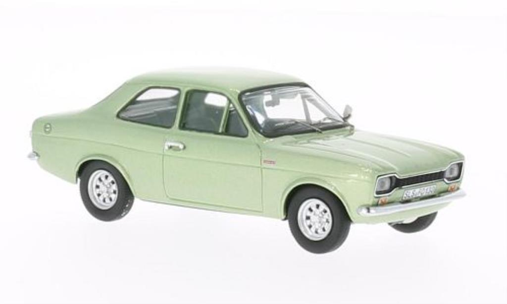 Ford Escort 1/43 WhiteBox MkI 1300 GT grise-verte 1970 miniature