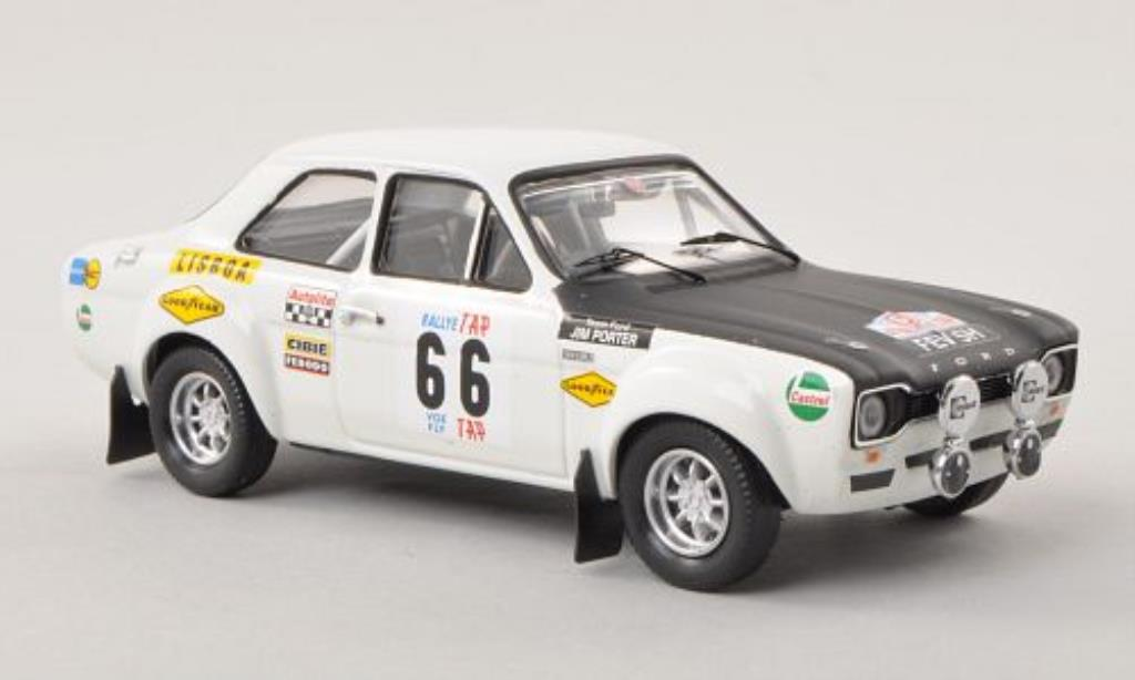 Ford Escort 1/43 Trofeu MKI 1600TC No.66 TAP Rally Portugal 1970 /J.Porter miniature