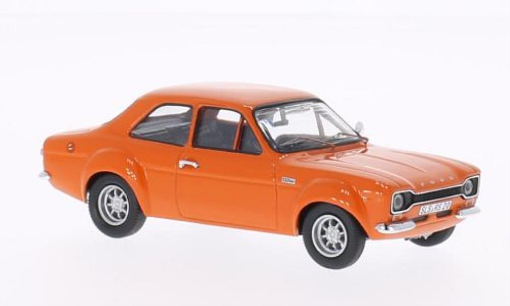 Ford Escort 1/43 WhiteBox MKI 2000 orange miniature