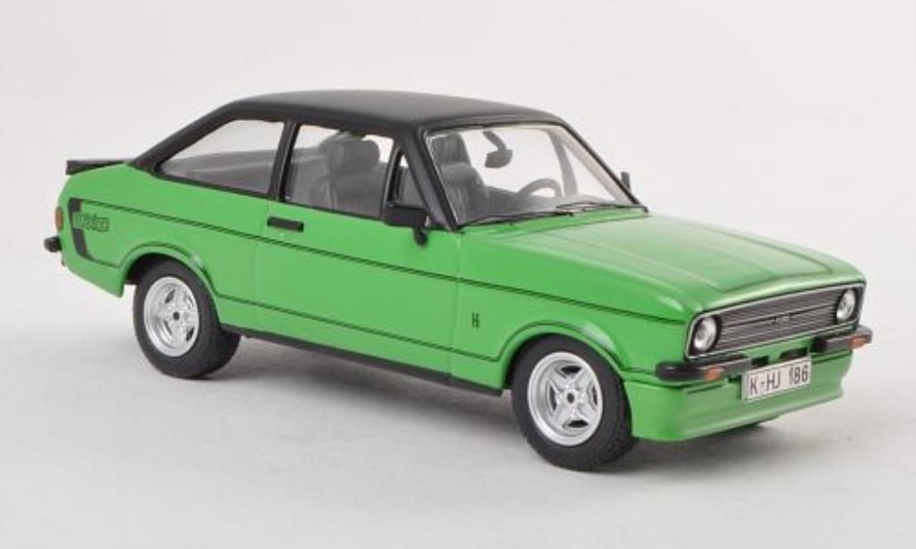 Ford Escort 1/43 Vanguards MkII Mexico grun LHD 1976 miniature