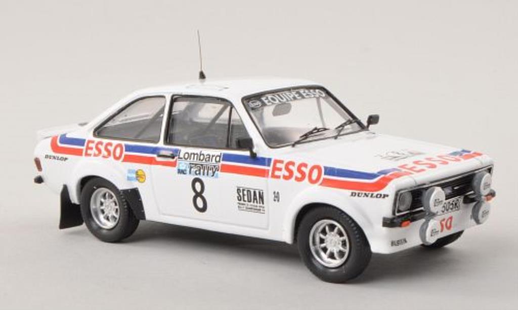Ford Escort 1/43 Trofeu MKII  No.8 Esso RAC Rally Grossbritannien 1979 /N.Wilson modellautos
