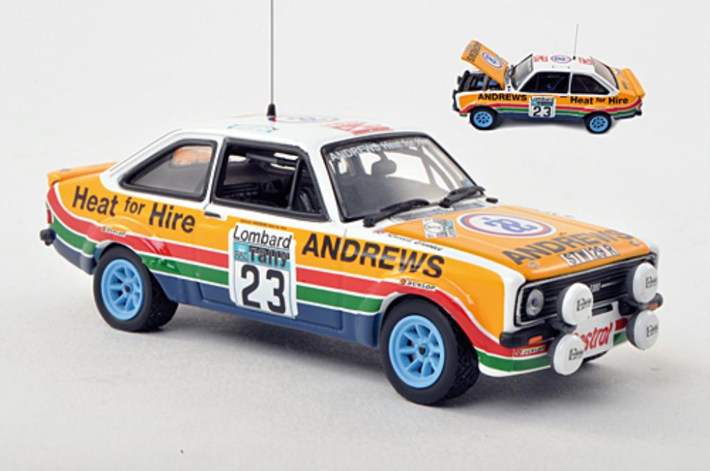 Ford Escort 1/43 Vitesse MKII 1800 No.23 RAC Rally 1977 /J.Brown miniature