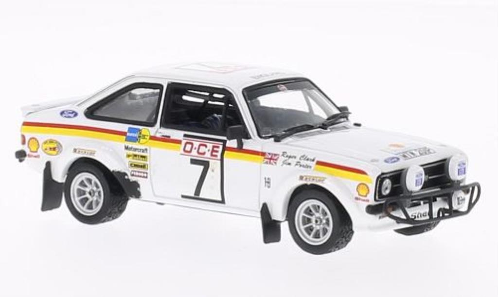 Ford Escort 1/43 Vitesse MKII 1800 No.7 Rally Marokko 1976 /J.Porter modellautos