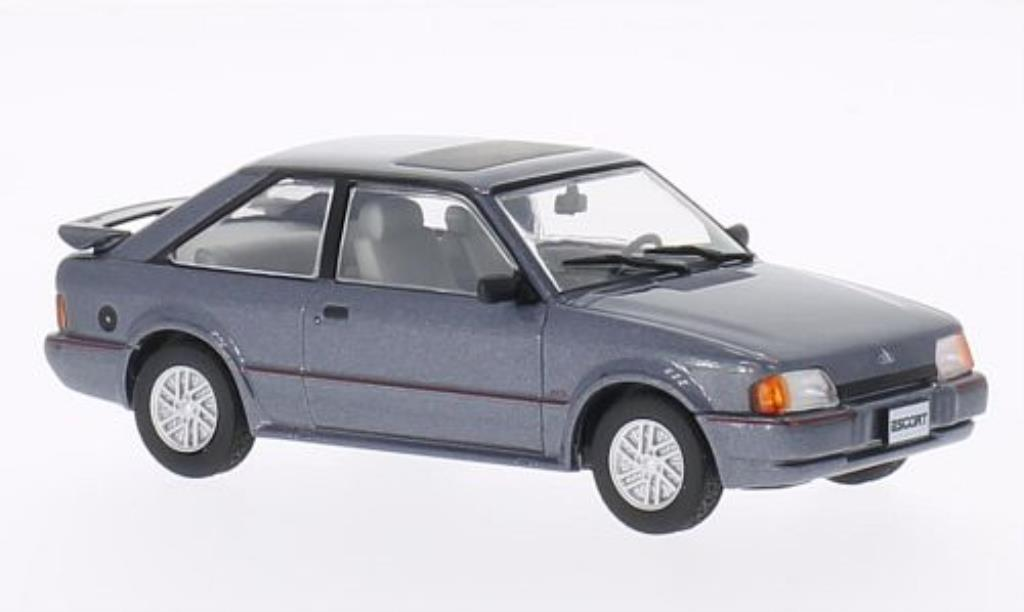 Ford Escort 1/43 WhiteBox MKIV XR3i grise 1990 miniature