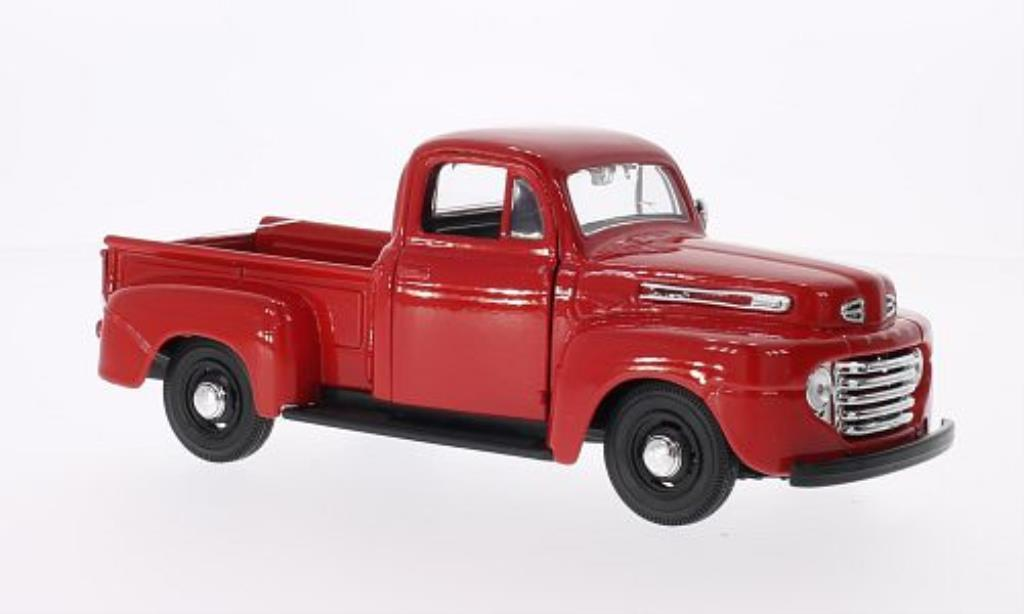 Ford F-1 1/25 Maisto Pick Up rouge 1948 miniature