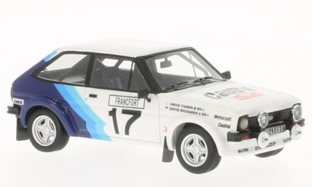 Ford Fiesta 1/43 Neo 1600 Gr.2 No.17 Castrol Rally Monte Carlo 1979 /D.Richards diecast model cars