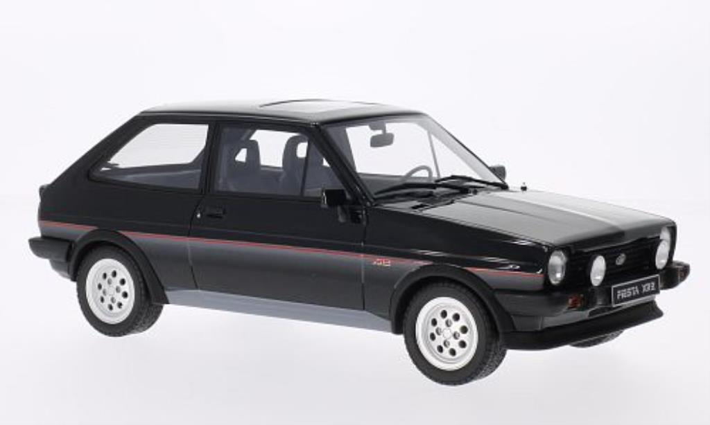 Ford Fiesta 1/18 Ottomobile Mk I XR2 noire miniature