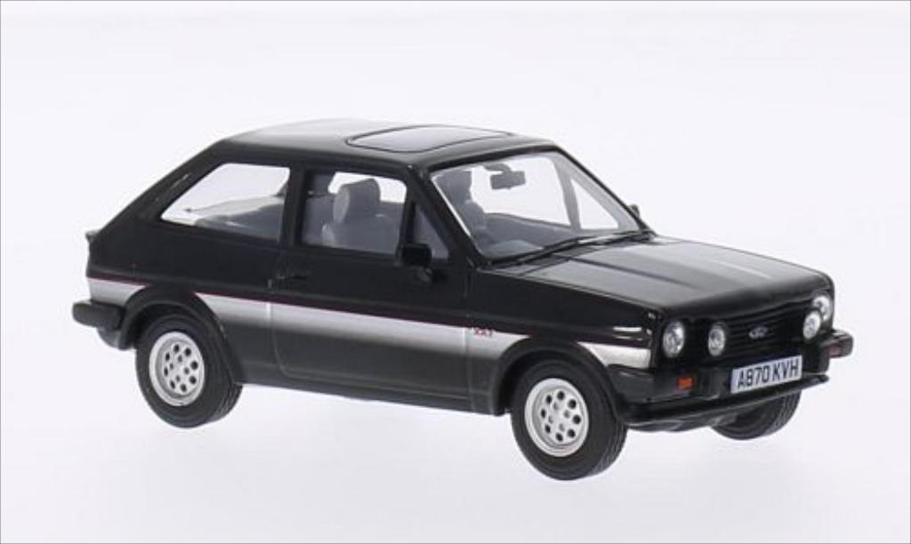 Ford Fiesta 1/43 Vanguards Mk1 XR2 black/gray RHD diecast