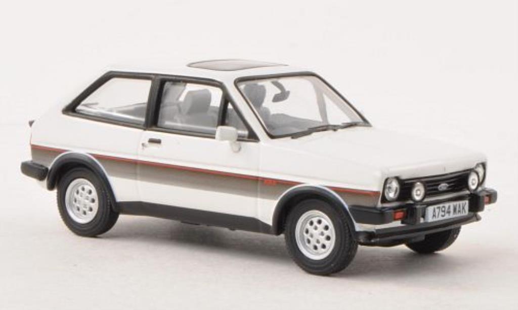 Ford Fiesta 1/43 Vanguards MkI XR2 blanche RHD miniature