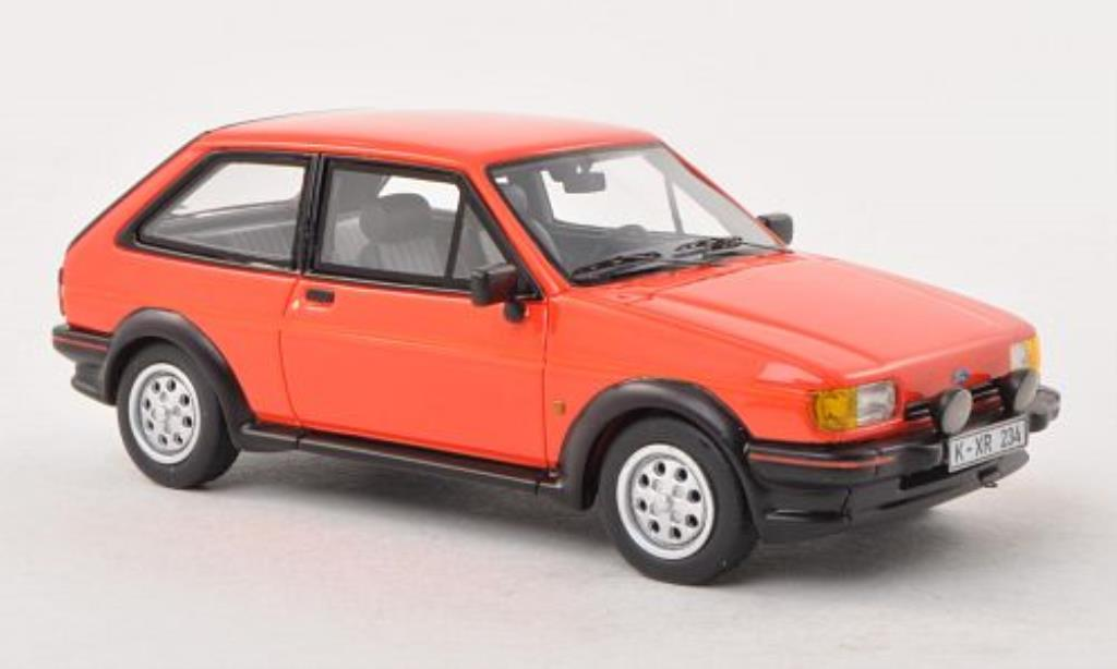 Ford Fiesta 1/43 Neo MkII XR2 rouge 1984 miniature