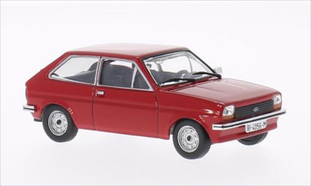 ford fiesta rot 1976 mcw modellauto 1 43 kaufen verkauf modellauto online. Black Bedroom Furniture Sets. Home Design Ideas