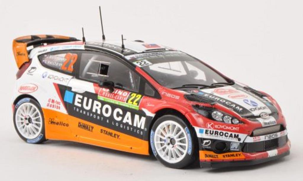Ford Fiesta 1/43 Spark No.22 Slovakia WRT Rally Monte Carlo 2014 /E.Melicharek diecast model cars