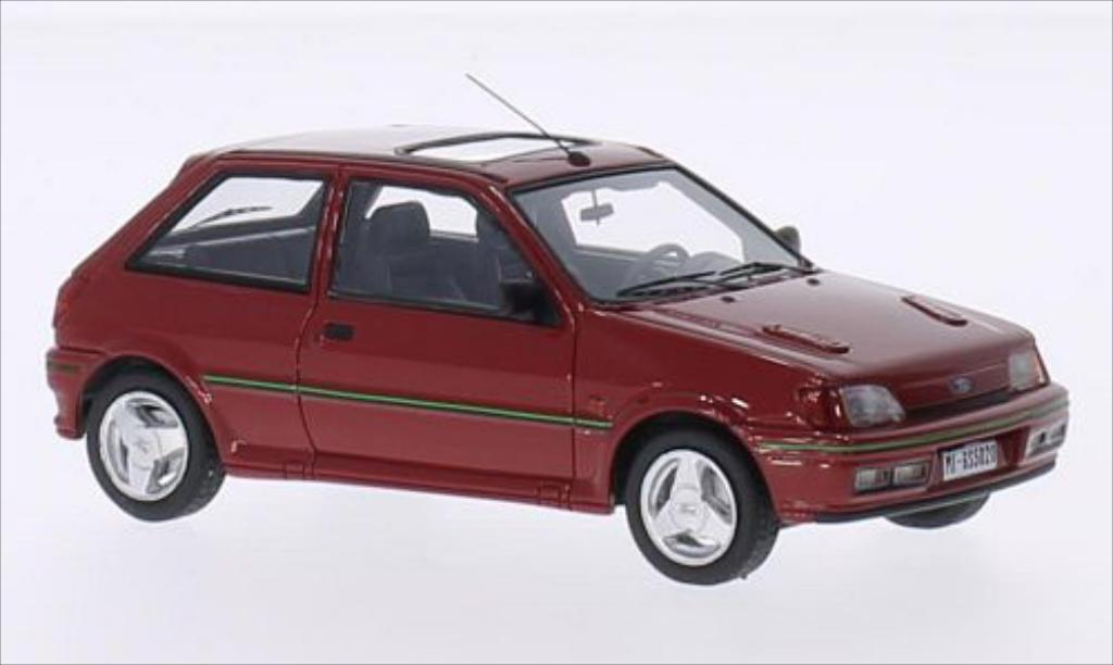 Ford Fiesta 1/43 Kess Turbo MKIII red 1989 diecast model cars