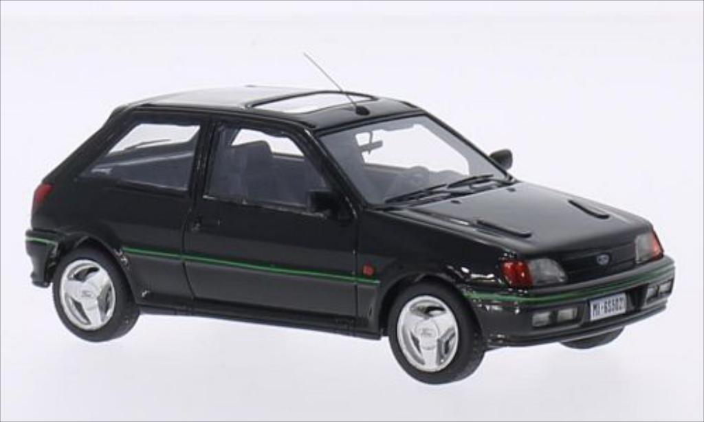 Ford Fiesta 1/43 Kess Turbo MKIII black 1989 diecast model cars