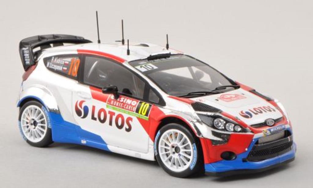 Ford Fiesta 1/43 Spark  WRC No.10 M-Sport WRT / Lotos Rally Monte Carlo 2014 /M.Szczepaniak miniature