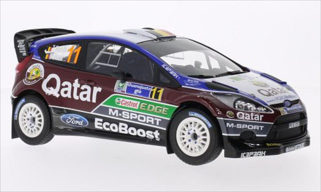 Ford Fiesta 1/18 Minichamps WRC No.11 Qatar M-Sport World Rally Team Castrol Rallye WM Rallye Mexico 2013 /N.Gilsoul diecast model cars
