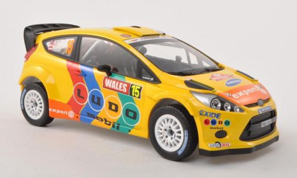 Ford Fiesta 1/18 Minichamps  WRC No.15 Stobart Wales Rally Grossbritannien 2011 /I.Minor miniature