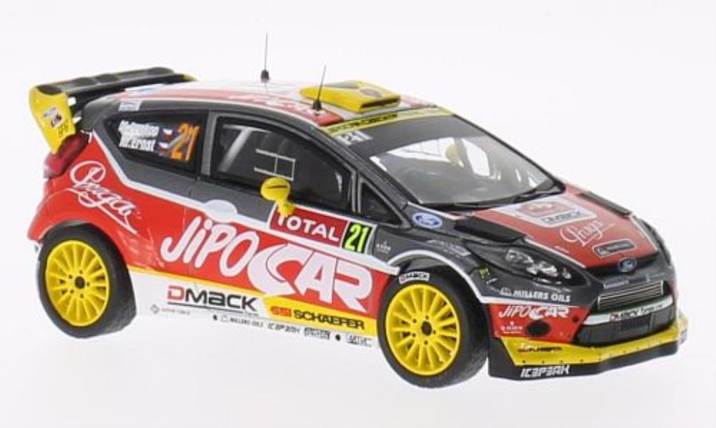 Ford Fiesta 1/43 IXO WRC No.21 Jipo Car Rally Monte Carlo 2013 /M.Ernst miniature