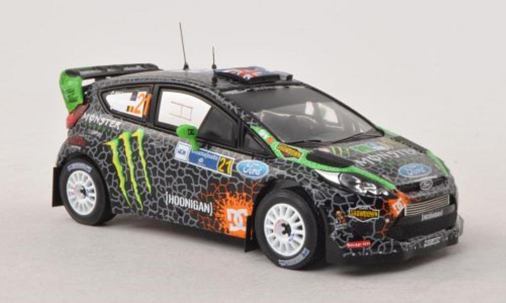 Ford Fiesta 1/43 IXO  WRC No.21 Rally Mexiko 2012 /S.Prevot miniature