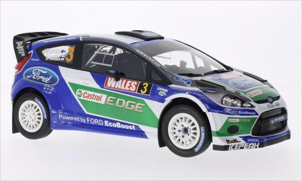 Ford Fiesta 1/18 Minichamps WRC No.3 World Rallye Team Castrol Rallye WM Rallye Grossbritannien 2012 diecast model cars