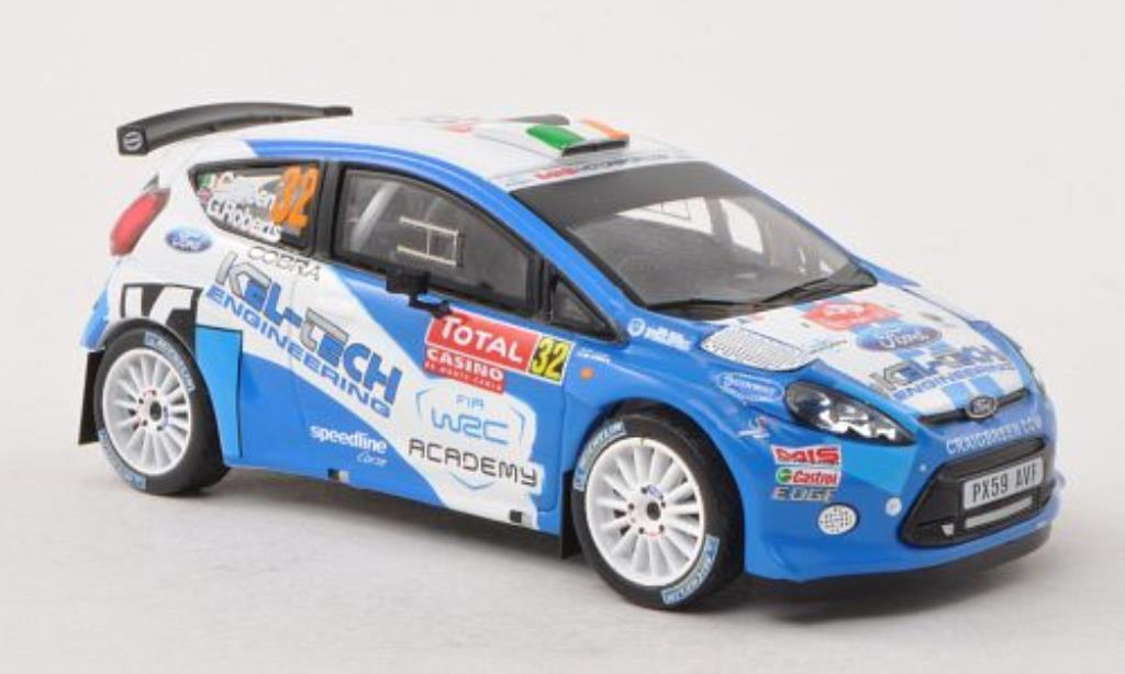 Ford Fiesta 1/43 IXO WRC No.32 MIS Motorsport Rally Monte Carlo 2012 /G.Roberts miniature
