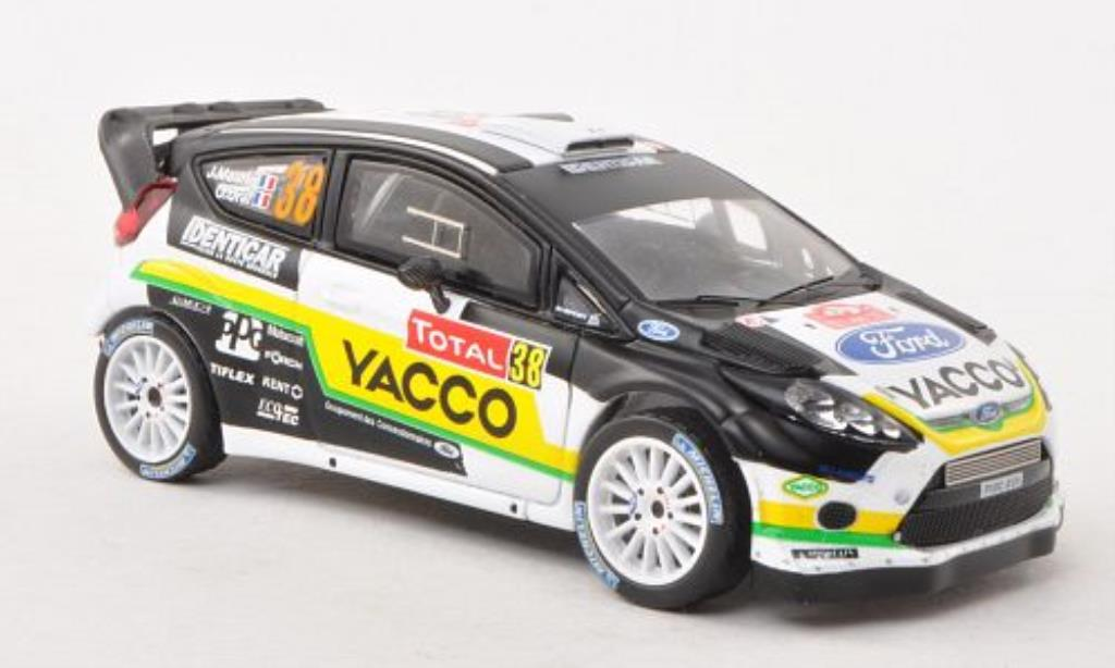 Ford Fiesta 1/43 IXO WRC No.38 Yacco Rally Monte Carlo 2012 /O.Ural miniature