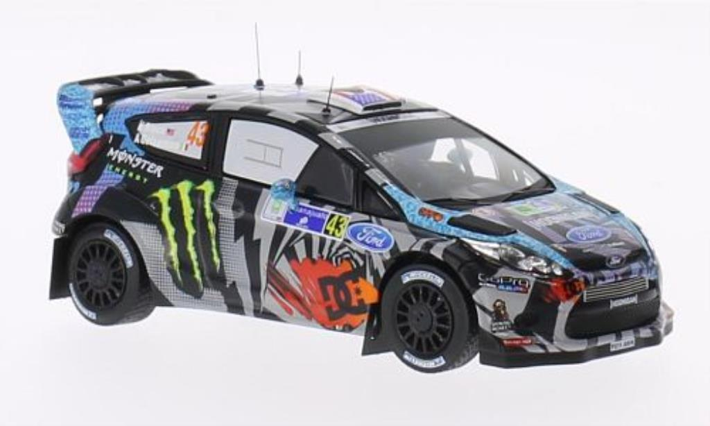 Ford Fiesta 1/43 IXO  WRC No.43 Monster Rally Mexico 2013 /A.Gelsomino miniature