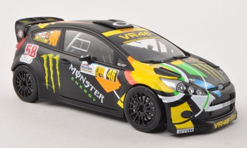 Ford Fiesta 1/18 Minichamps WRC No.46 Monster Monza Rally Show 2011 /C.Cassina diecast model cars