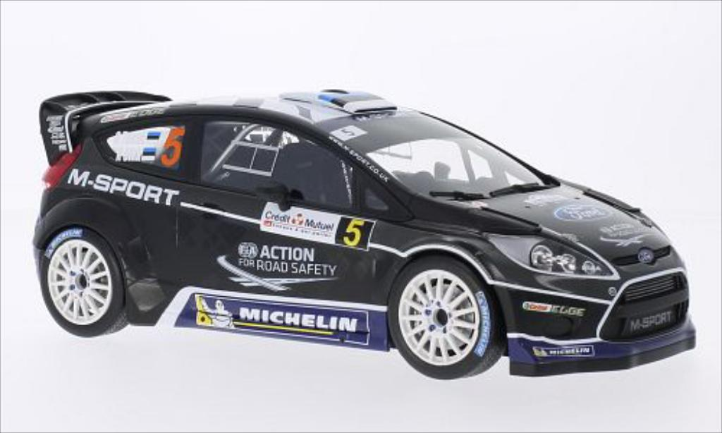 Ford Fiesta 1/18 Minichamps WRC No.5 M-Sport World Rallye Team Rallye WM Rallye de France 2012 /K.Sikk miniature