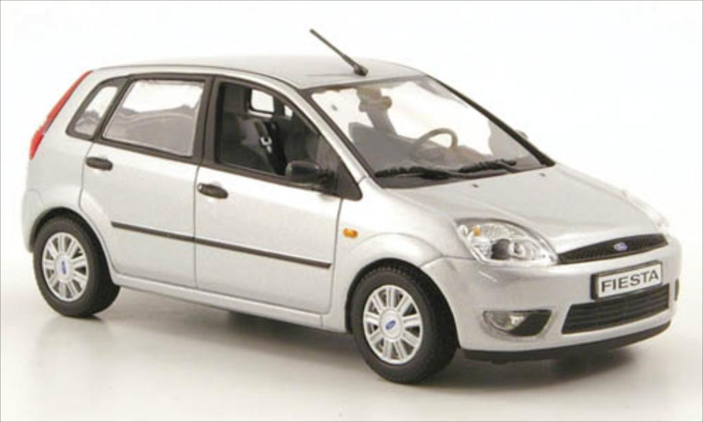 ford fiesta gray 2002 mcw diecast model car 1 43 buy sell diecast car on. Black Bedroom Furniture Sets. Home Design Ideas
