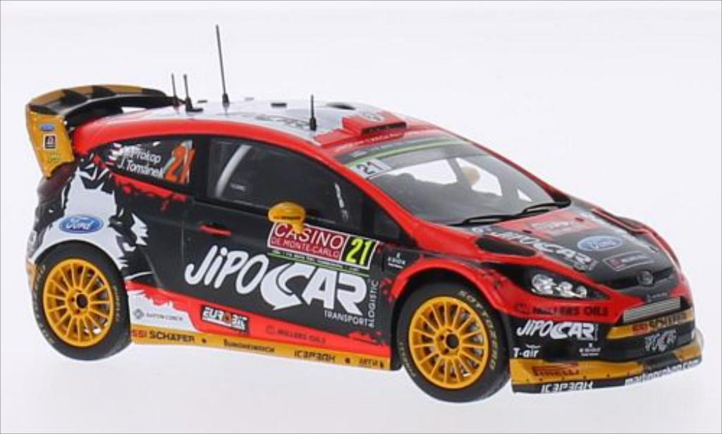 Ford Fiesta WRC 1/43 Spark No.21 Czech National Team Jipocar Rallye Monte-Carlo 2015 /J.Tomanek diecast model cars