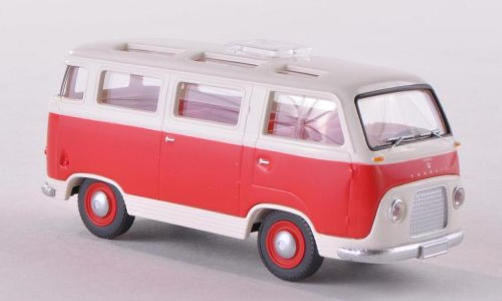 Ford FK 1000 1/87 Wiking Panoramabus rouge/blanche miniature