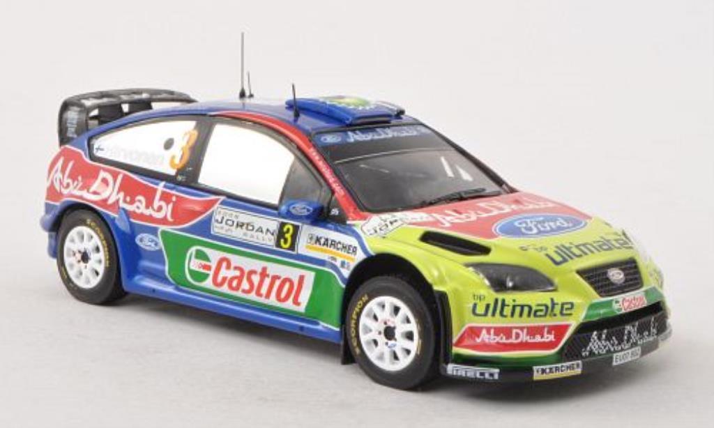 Ford Focus RS 1/43 IXO 07 WRC No.3 Rally Jordanien 2008 /J.Lehtinen miniature