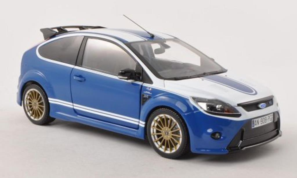 ford focus rs le mans classic edition blau weiss 2010 minichamps modellauto 1 18 kaufen. Black Bedroom Furniture Sets. Home Design Ideas