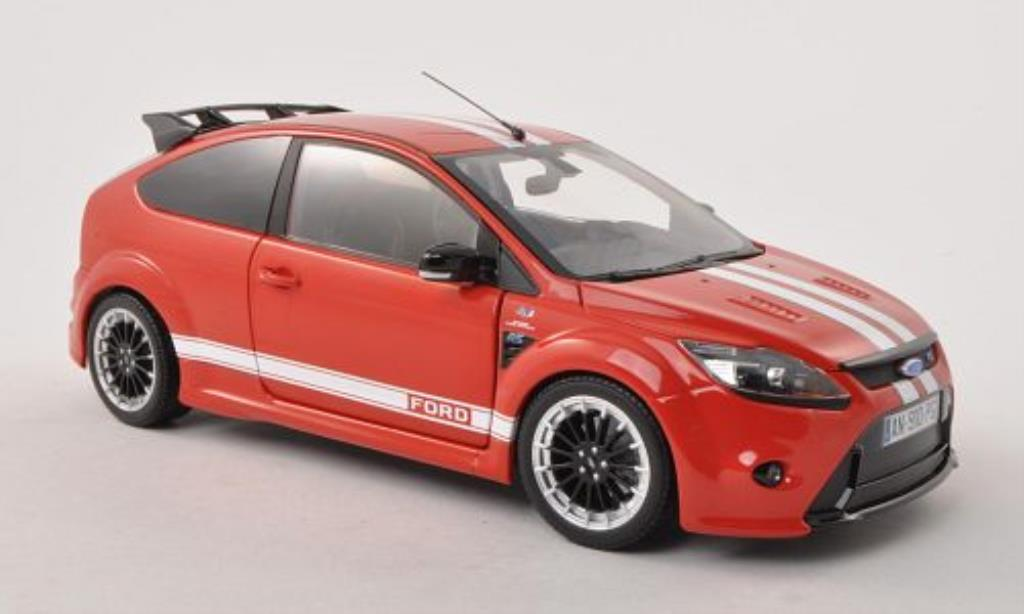 Ford Focus RS 1/18 Minichamps Le Mans Classic Edition rouge/blanche 2010 miniature
