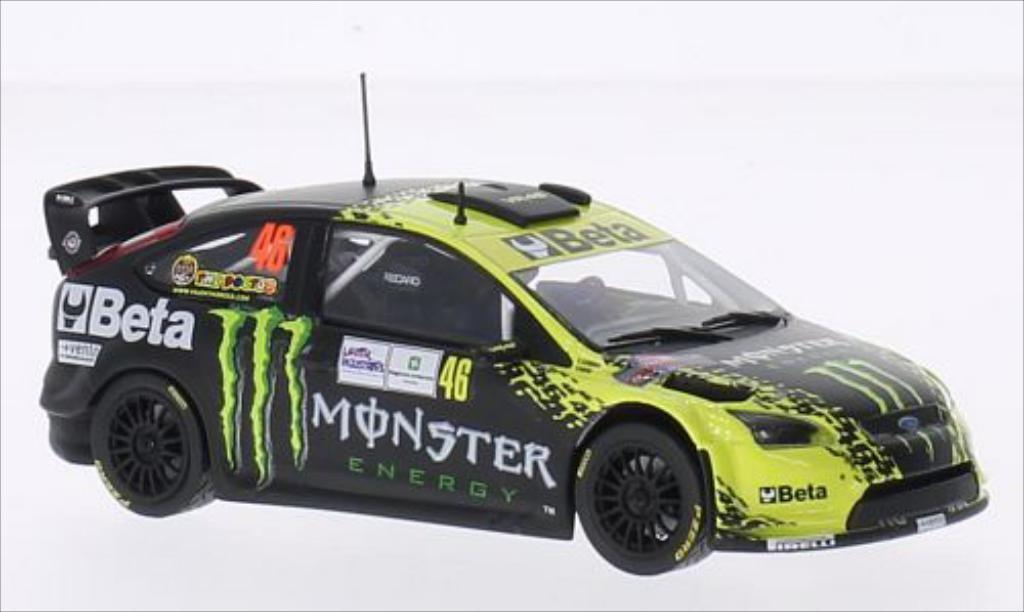 Ford Focus RS 1/43 Minichamps WRC No.46 Beta WRC Rallye Monza 2009 miniature