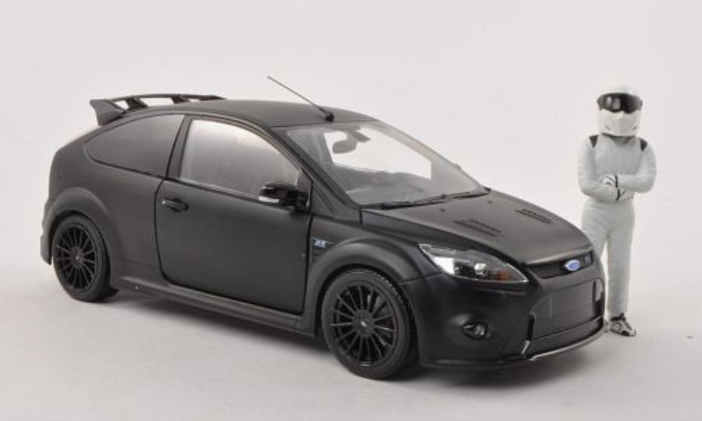 Ford Focus 1/18 Minichamps 500 matt-noire 2010 miniature