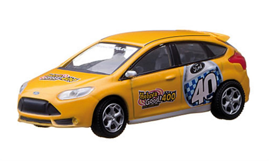 Ford Focus ST 1/64 Greenlight 40MPG 2011 miniature