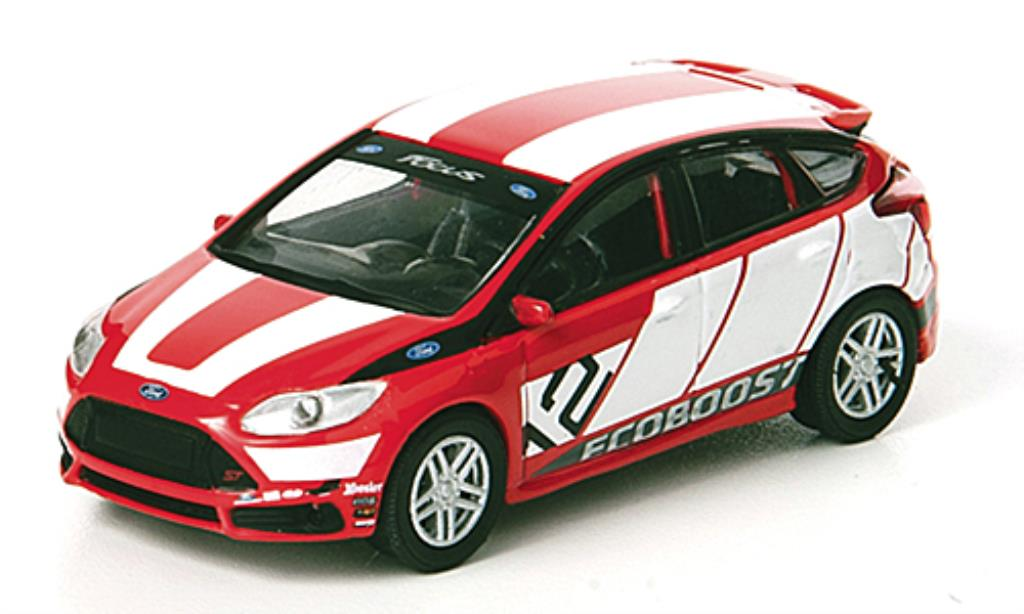 Ford Focus ST 1/64 Greenlight Racing Concept No.12 Launch Car 2012 miniature