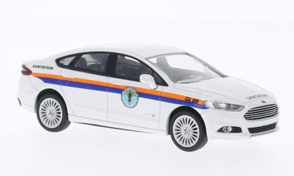 Ford Fusion 1/43 Greenlight DSNY - New York Department of Sanitation 2013 miniature