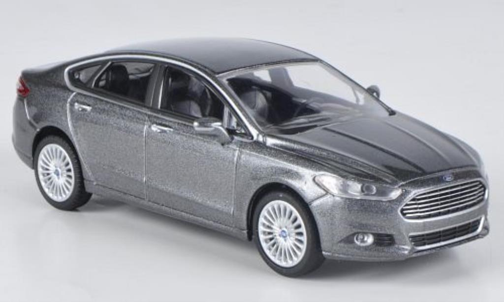 Ford Fusion 1/43 Greenlight grise 2013 miniature