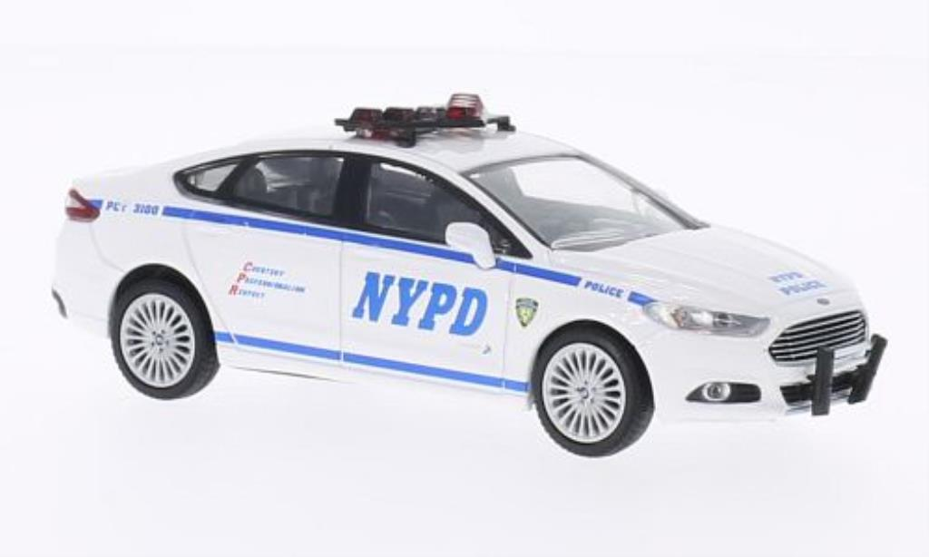 Ford Fusion 1/43 Greenlight NYPD - New York Police Department Polizei (USA) 2013