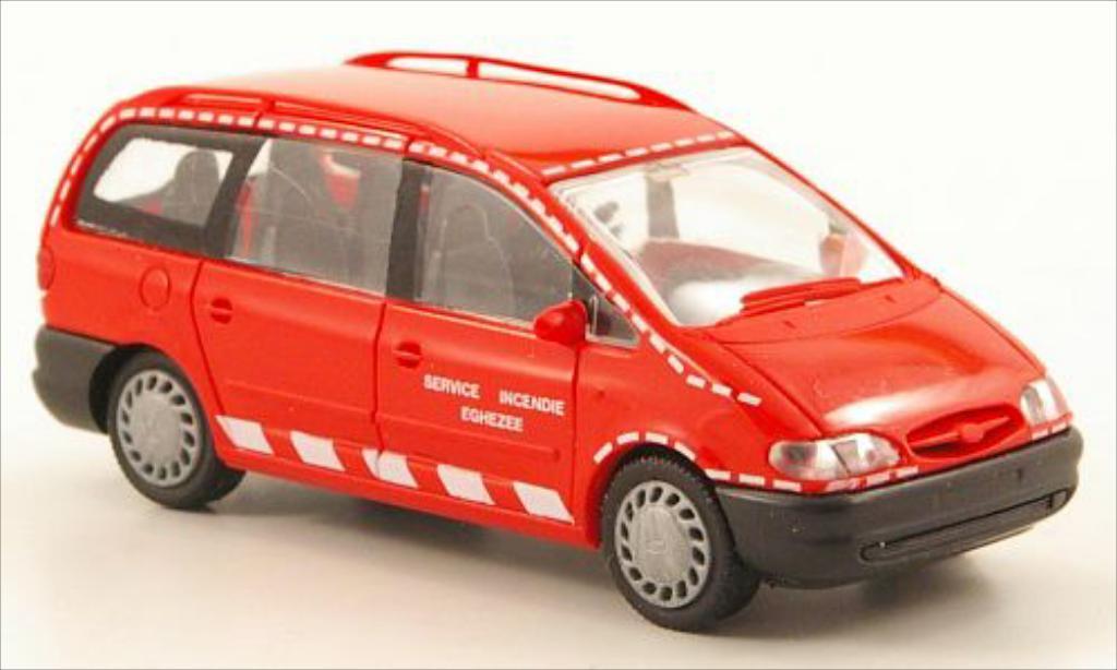 Ford Galaxy 1/87 Rietze MkI Service Inendie Eghezee (SM-B) miniature