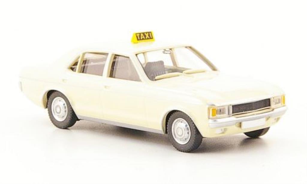 Ford Granada 1/87 Wiking Taxi beige miniature