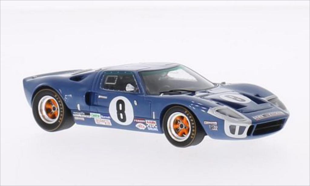 ford gt 40 no 8 24h le mans 1969 p vestey spark diecast model car 1 43 buy sell diecast car. Black Bedroom Furniture Sets. Home Design Ideas