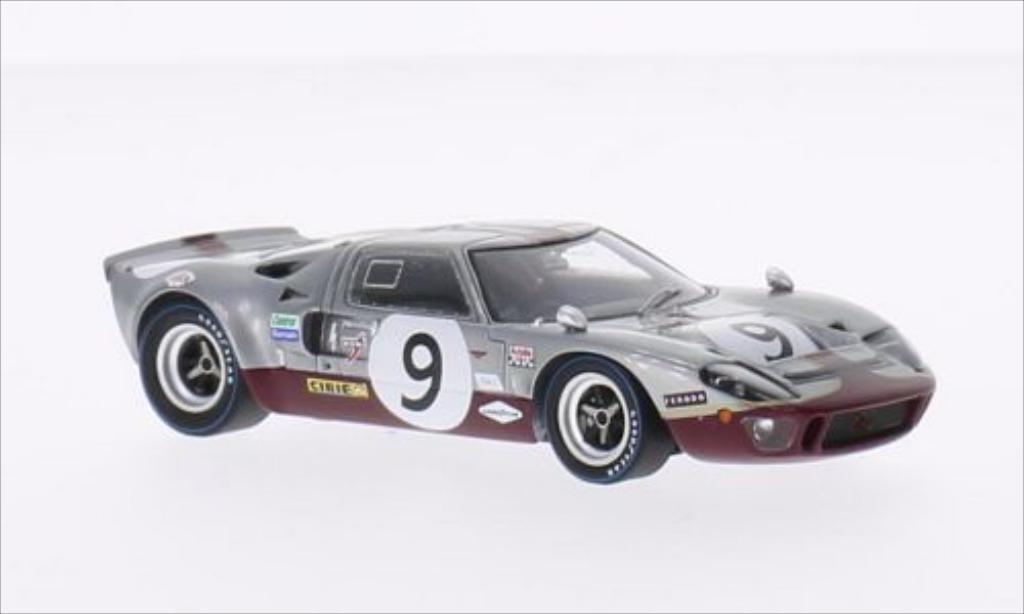 Ford GT40 1/43 Spark GT 40 RHD No.9 24h Le Mans 1969 /M.Guthrie diecast model cars