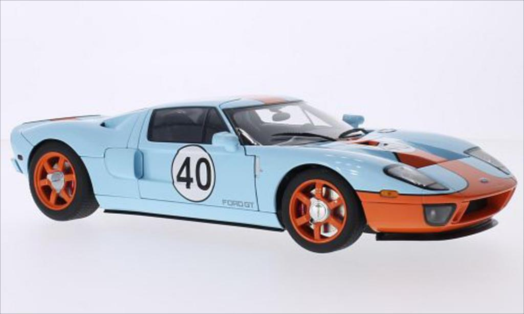Ford GT 1/18 Autoart Gulf 2004 miniature