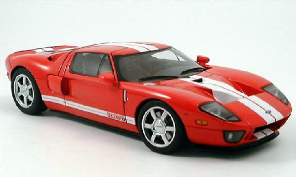 Ford GT 1/18 Autoart rouge 2004 miniature