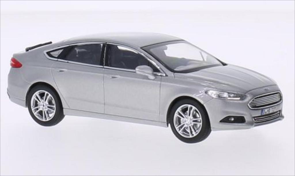 Ford Mondeo 1/43 Norev metallise grey 2015 diecast model cars