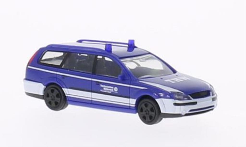 Ford Mondeo 1/87 Rietze MKIII Turnier THW Lubeck miniature